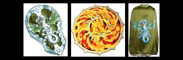 Flammen und Drachen