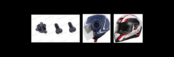 Bekleidung / Helme
