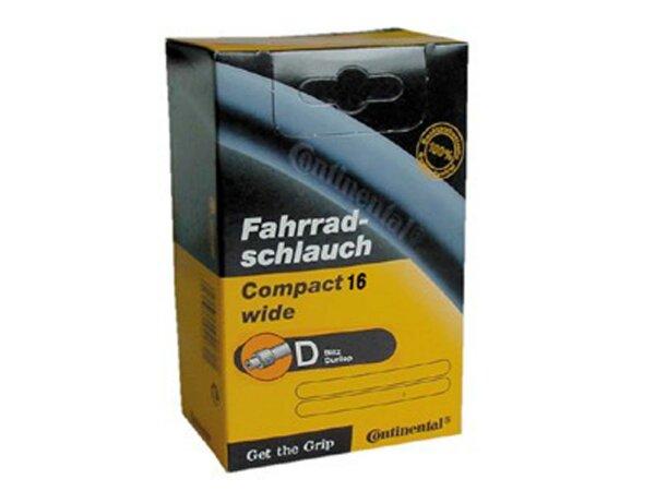 "schlauch conti compact wide 16 16x1.90/2.50"" 50/62-305 dv"