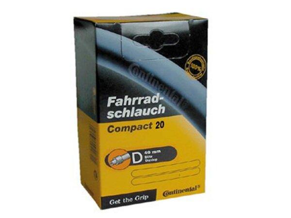 "schlauch conti compact 20 20x1 1/4-1.75"" 32/47-406/451 dv 40mm"