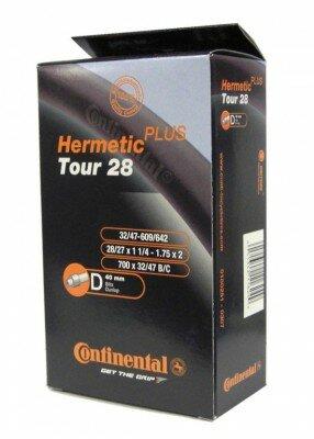 "schlauch conti tour 28 hermetic plus 27/28x1 1/4-1.75"" 32/47-622/635 dv 40mm"