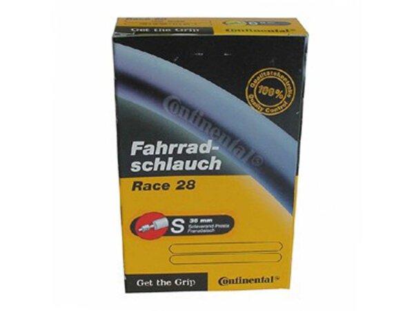 """schlauch conti race 28 28"""" 700x20/25c 18/25-622/630 sv  42"""