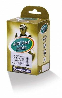"schlauch michelin c4 aircomp latex 26"" 47/57-559, av 42 mm"