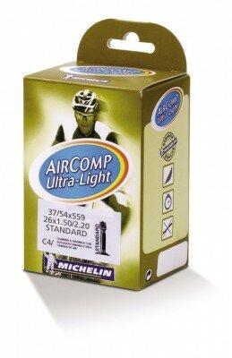 "schlauch michelin c4 aircomp ultralight 26"" 37/54-559, av 35 mm"