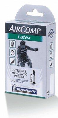 """schlauch michelin a1 aircomp latex 28"""" 22/23-622, sv 60 mm"""
