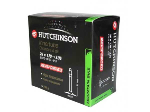 """schlauch hutchinson reinforced 26"""" 26x1.70-2.35""""  franz.-ventil 48 mm"""