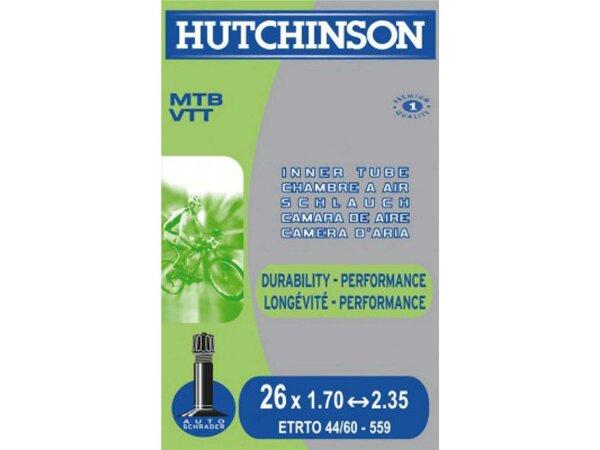 """schlauch hutchinson standard 27.5"""" 27.5x1.70-2.35""""  franz.-ventil 48 mm"""