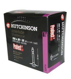 "schlauch hutchinson protect air 28"" 700 x 28/35  franz.-ventil 48 mm"