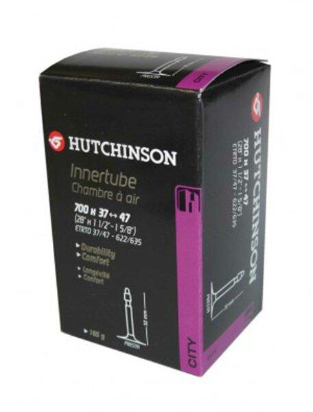 """schlauch hutchinson road 28"""" 700 x 20/25  franz.-ventil 48 mm"""