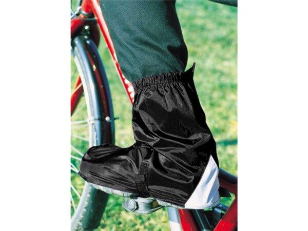 Fahrradgamaschen Hock Gamas schwarz Gr. 45-47 für SPD-Schuhe knöchellang