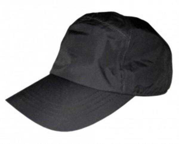 Schirmmütze Rain Cap schwarz, atmungsaktiv