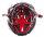mariposa helmpolster octo plus kit univ rot, mit klettverschlüsse