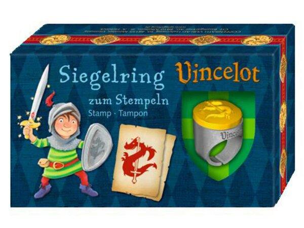 Spiegelburg Siegelring zum Stempeln Vincelot