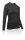 Longshirt F-Damen Merino schwarz. Gr.S (34-36)