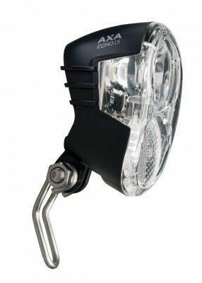 Scheinwerfer AXA Echo 15 Steady f.Nabendynamo mit Halter und Kabel
