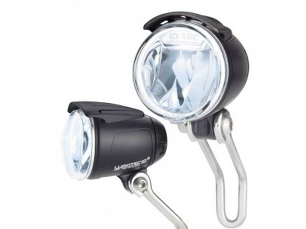 led-scheinwerfer lumotec iq cyo n plus für nabendynamo standlicht 175qndi 60lux