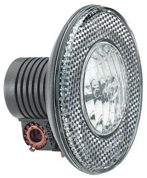 Halogen-Scheinwerfer b&m Lumotec N2 plus rund  für Nabendynamo Standlicht