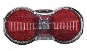 Rücklicht b&m Toplight Flat S plus mit Standlicht, 50/80mm