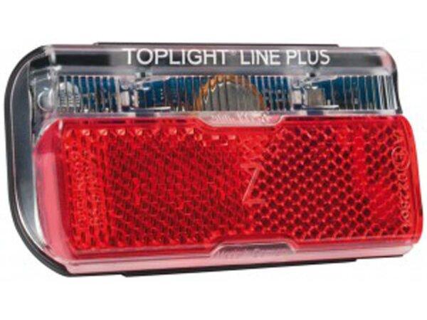 Rücklicht b&m Toplight Line brake plus Bremslichtfunktion und Standlicht,80mm