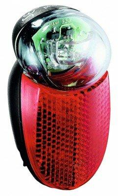 rücklicht b&m seculite plus diodenrü. mit standlicht für schutzblech