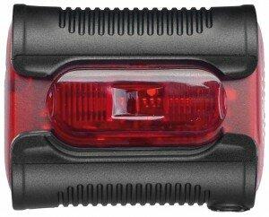 Batterie-Diodenrücklicht b&m Ixback senso Gehäuse rot