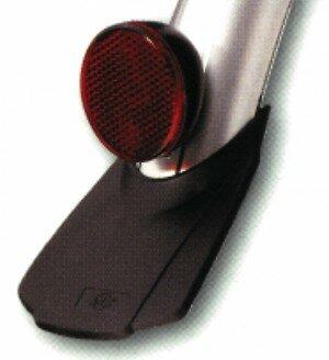 Rückstrahler oval  B&M Schutzblechbefestigung mit Schraube