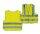 Signalweste für Erwachsene gelb mit Reflexstreifen Gr. M
