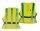 4-ACT Reflex-Freizeitweste SB-verpackt, hochwertiges Reflex Material Mit Klettverschluss und einem Bauchgurt zur optimal