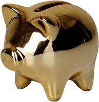 spiegelburg mini-sparschwein (keramik) viel glück