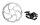 scheibenbremse avid bb7 mtb mechanisch schwarz scheibe 180mm hr