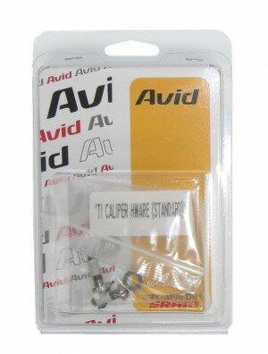 schrauben-set avid für scheibenbremse titanium t25 inkl.beilagscheib.standard