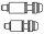 schrauben-kit titan avid set xx 20 s pm f. vr 180mm/hr 160mm, titant25 standard