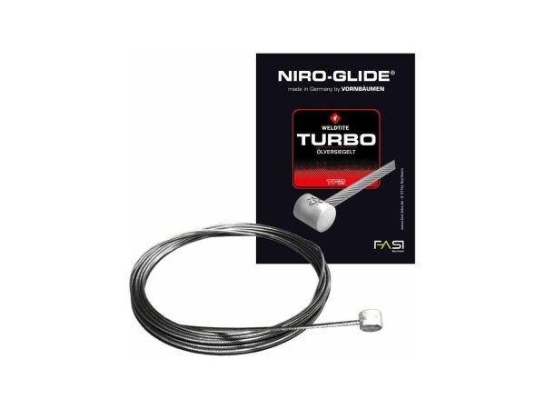 bremsinnenzug-edelstahl mit quernippel 800mm, ø 1,5mm, einzelverpackt