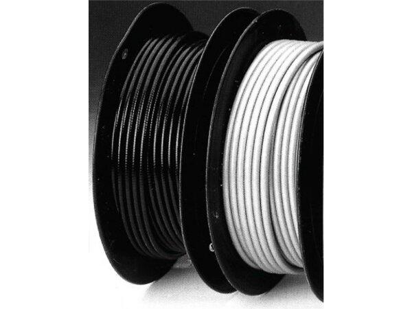 Bowdenzug-Hülle schwarz, Ø 5mm x 2,5mm, per Meter