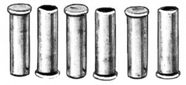 endhülse für bremsinnenzug beutel 10 st., innendurchmesser 1,9 mm