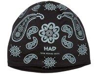 H.A.D. Beanie India Paisley Black Merino Beanie