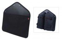 tasche fahrer panel bag für bullitt cargobikes, schwarz
