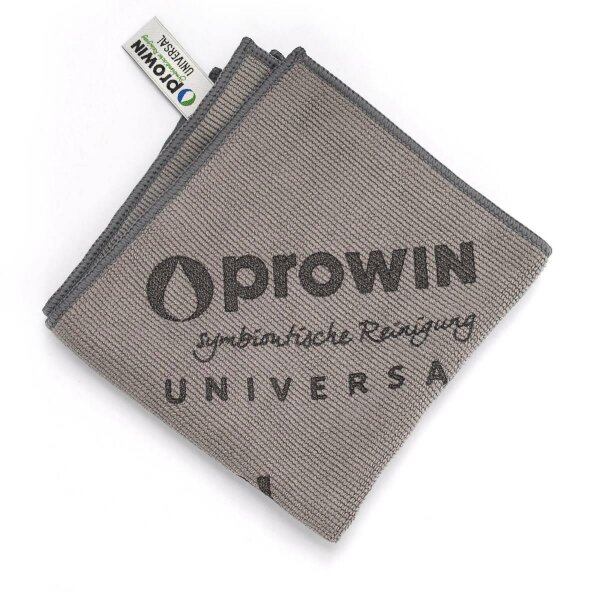 proWIN Universaltuch grau 32x32cm Microfasertuch