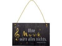 """spiegelburg holzschild """"ohne musik ..."""" all..."""