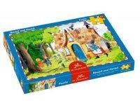spiegelburg boxpuzzle hänsel und gretel (48 teile)