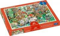 spiegelburg boxpuzzle im wichtelwald (48 teile)