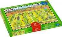 spiegelburg boxpuzzle auf dem fußballplatz (48 teile)