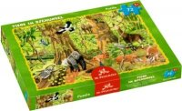 spiegelburg boxpuzzle tiere im dschungel (72 teile)