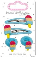 spiegelburg haarclip + haargummi eis  beautiful stars