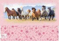 spiegelburg briefpapier-set pferdefreunde