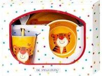 spiegelburg melamin-geschenkset tiger  freche rasselbande