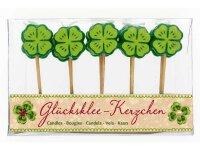 Spiegelburg Glücksklee-Kerzchen Glücksbringer