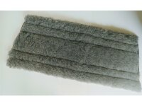 proWIN Trapezfasern Trocken grau Bodentuch für...