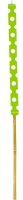 Spiegelburg Gartenfackel Große Punkte, grün